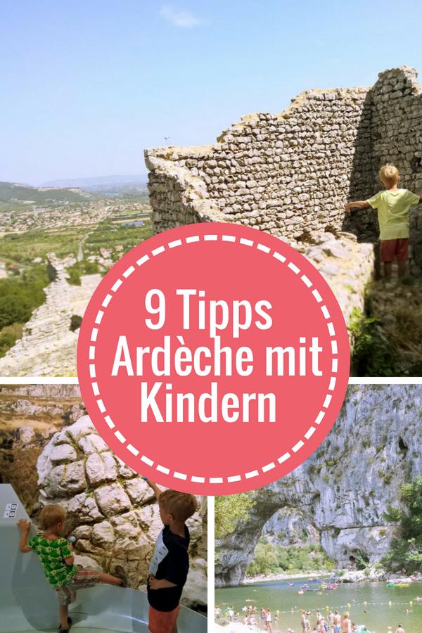 9 Ausflugtipps an der Ardèche mit Kindern #Ausflug #Ardeche #Frankreich #Avignon #Chauvet #reise #urlaub