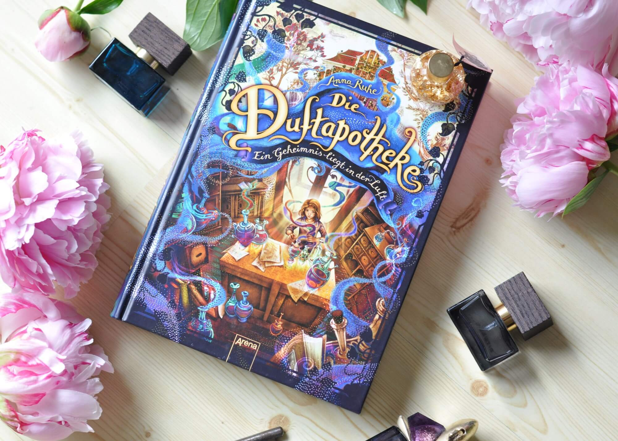 Die Duftapotheke - Ein Geheimnis liegt in der Luft. Abenteuerroman mit viel Spannung und Pflanzenwissen. +duftapotheke #Buchtipp #lesen #vorlesen #spannung #buch #kinderbuch