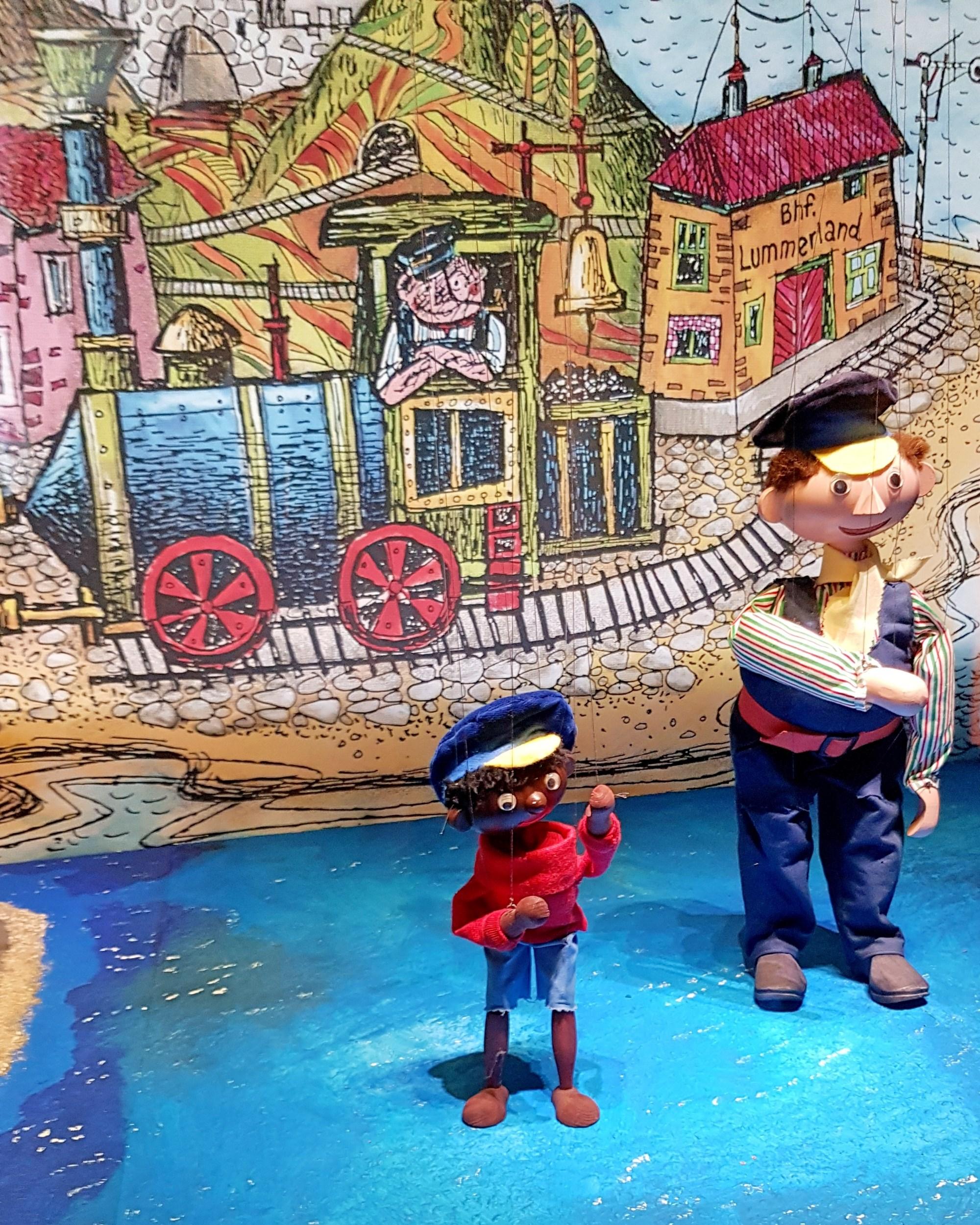 Lukas und Jim Knopf - Helden der Kinderbücher