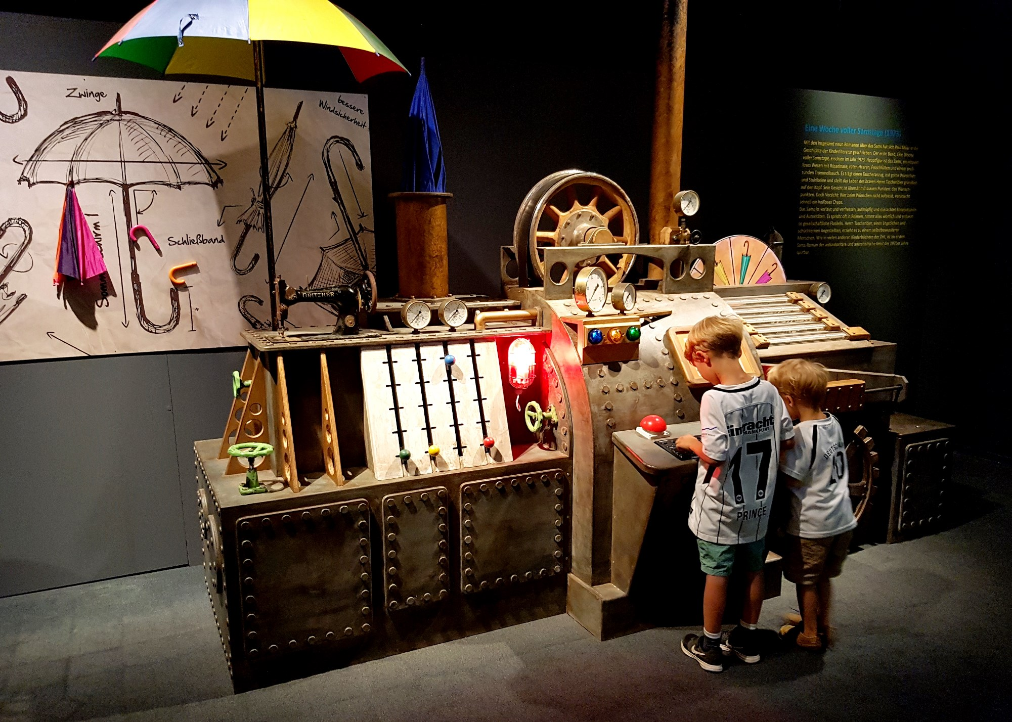 Helden der Kinderbücher in Speyer #kinderbuch #museum #speyer #ausflug