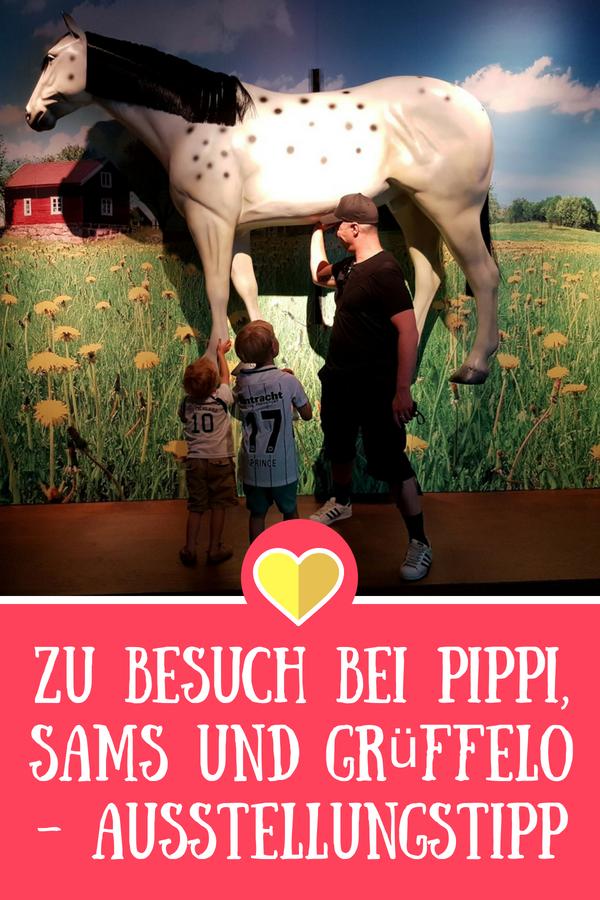 Helden der Kinderbücher - zu Besuch bei Pippi, Sams und Grüffello - Ausstellung in Speyer bis 2019 #kinder #kinderbuch #helden #pippi #grüffelo #sams #museum #ausflug #speyer
