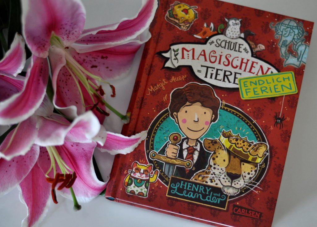 Die Schule der magischen Tiere - Henry und Leander - Endlich Ferien #kinderbuch #schule #tiere #magie #buchtipp