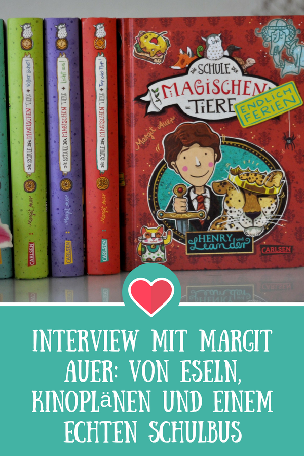 """Interview mit Margit Auer zum Jubiläumsevent von """"Die Schule der magischen Tiere"""" #kinderbuch #interview #verfilmung #kino #schule #buchtipp"""