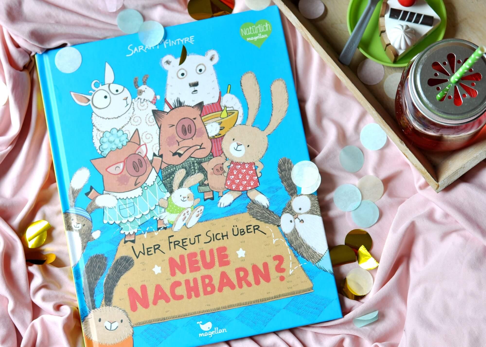 Wer freut sich über neue Nachbarn! Ein Buch gegen Vorurteile #kinderbuch #buch #vorurteile #toleranz #vorlsen #buchtipp