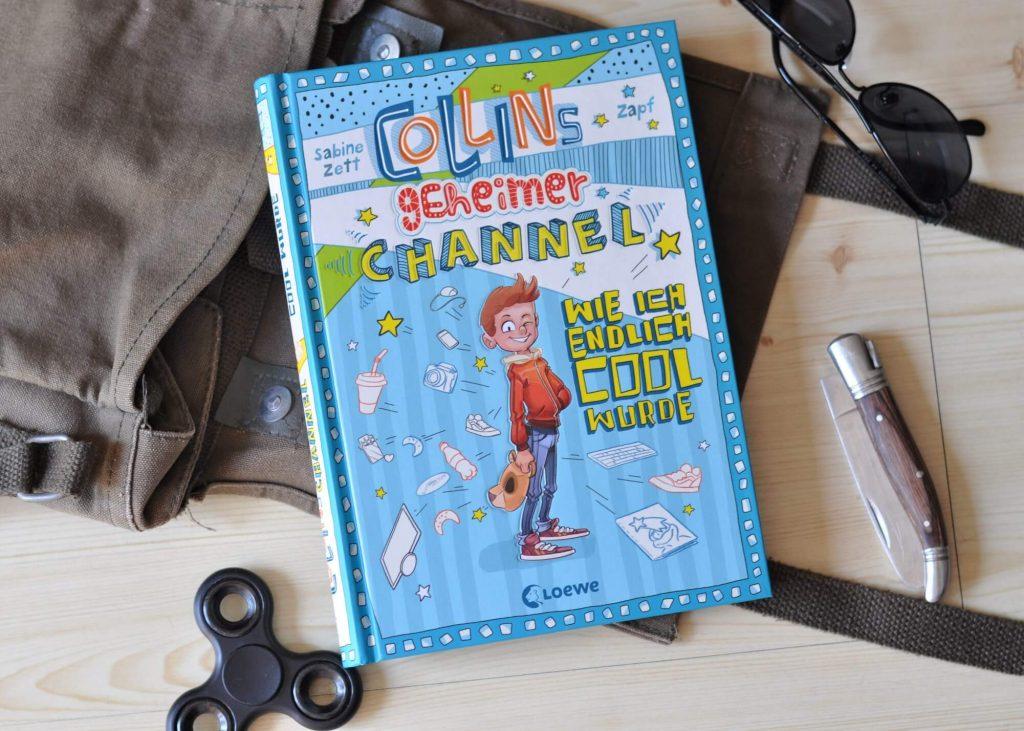 Collins geheimer Channel #kinderbuch #buch #lesen #vorlesen #junge #buchtipp #youtube