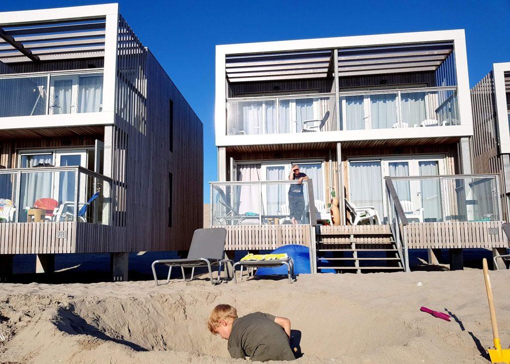 Strandhäuser bei Hoek van Holland #holland #reise #kinder #strand #urlaub #ferien #haus