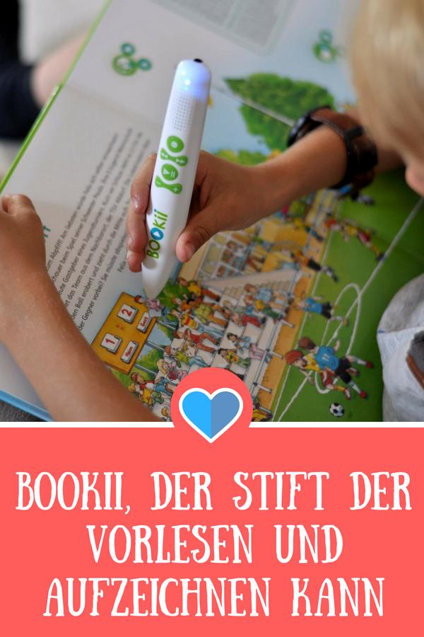 Booki, der Hörstift der vorlesen und aufzeichnen kann im Test #bookii #hörstift #fußball #vorlesen #kinderbuch #lesen
