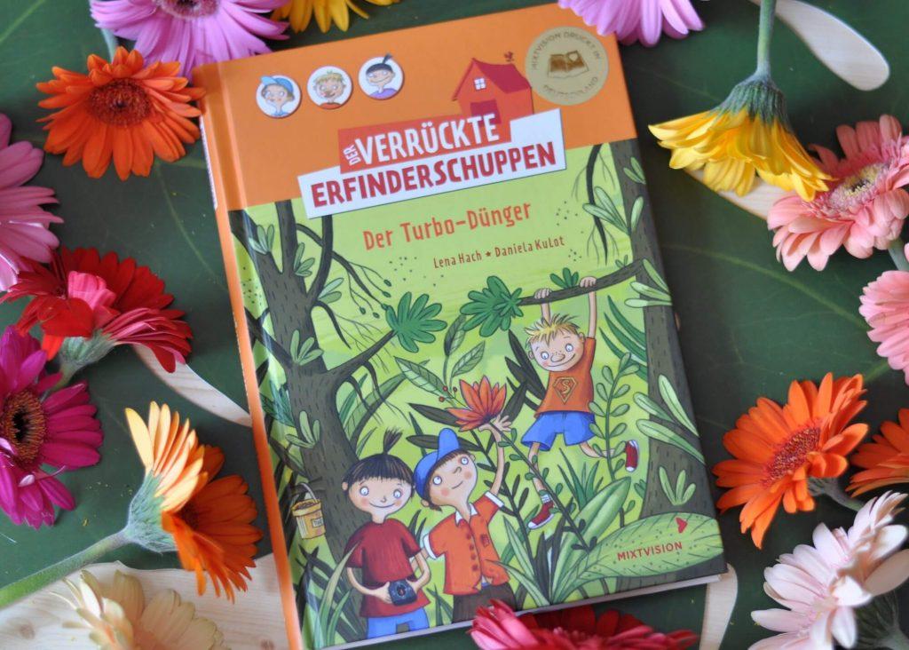 Der verrückte Erfinderschuppen - Der Turbodünger #kinderbuch #lesen #erfinder #abenteuer