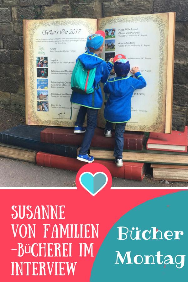 BücherMontag mit Susanne von Familienbücherei #interview #buchblogger #bücher #lesen #kinderbuch