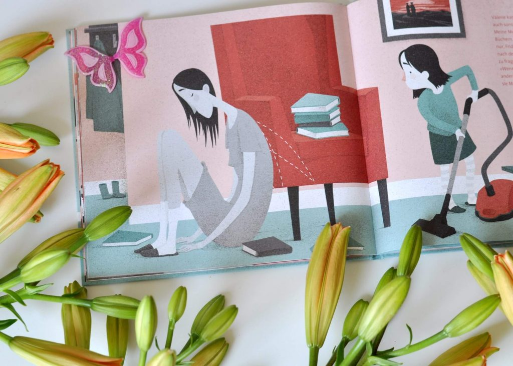 Mama hat Depressionen: Meine Mutter, die Fee, Bilderbuch für Kinder ab 4 Jahren #depressionen #kinderbuch #bilderbuch #mama #mutter #vorlesen #lesen #krankheit #fee