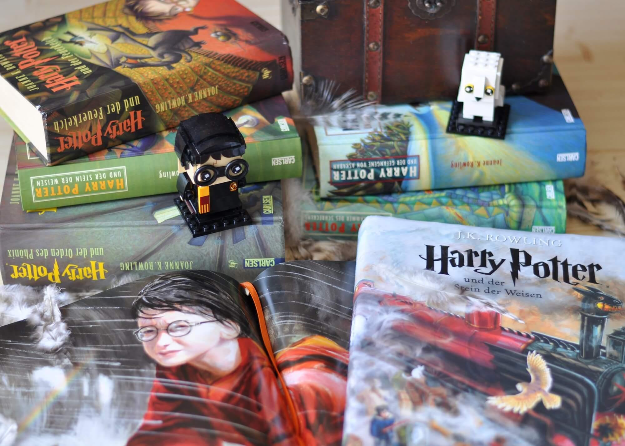 Harry Potter und die Macht des Lesens - 20yearsofmagic #jubiläum #harrypotter #potter #blogparade #fantasy #20jahre