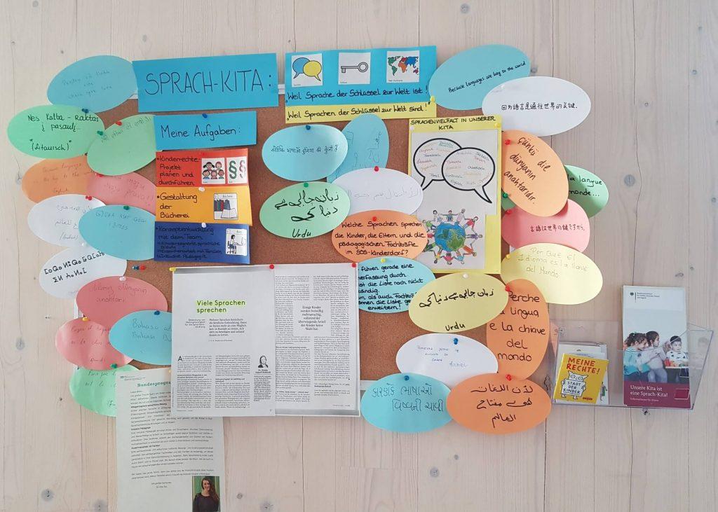 SOS-Kinderdorf Frankfurt - Was ist eigentlich eine Sprach-Kita #frankfurt #soskinderdorf #wirsindfamilie #sprachkita #kindergarten #erziehung #kinder #migration