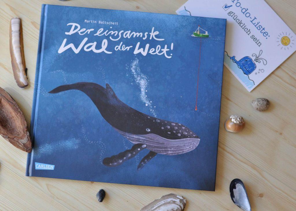 Der einsamste Wal der Welt #Kinderbuch #Bilderbuch #Vorlesen #Einsamkeit #Wal