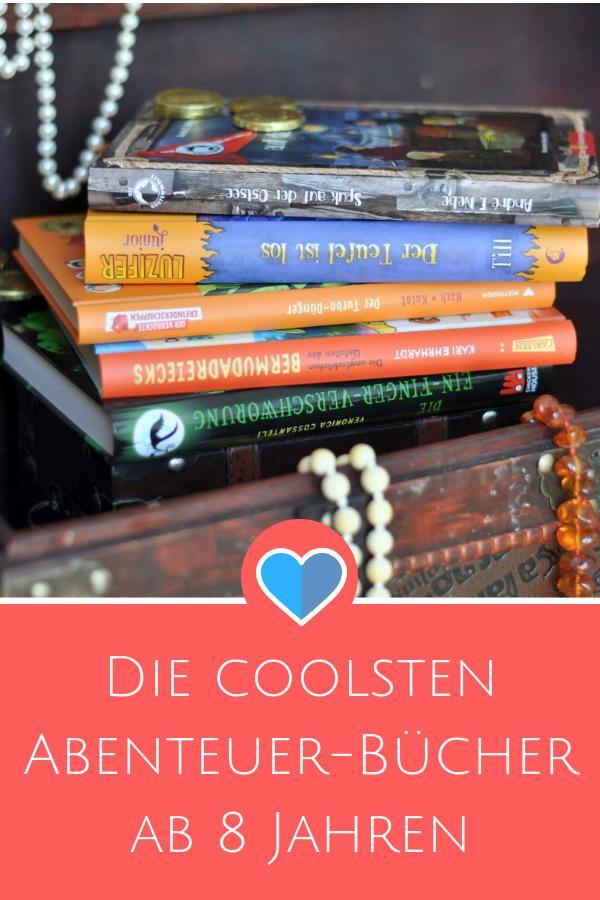 Die coolsten Abenteuer-Bücher ab 8 Jahren #Detektiv#lesen #vorlesen #buch #kinderbuch #spannung