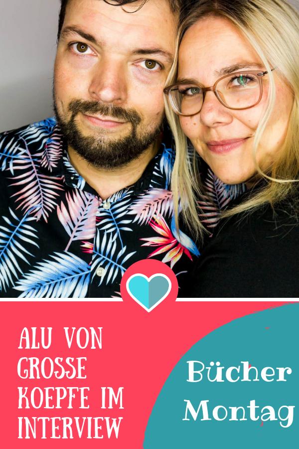 BücherMontag mit Alu von Große Köpfe #illustrationen #kinderbuch #interview #familie #eltern #buch