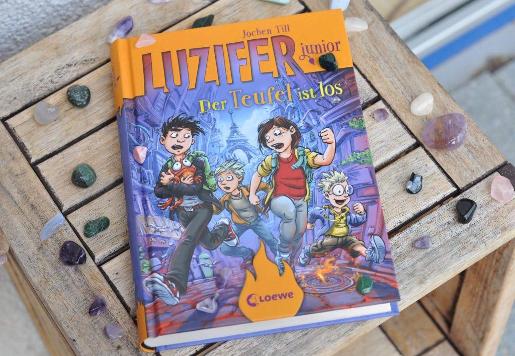 Luzifer Junior - Der Teufel ist los, Kinderbuch ab 10 Jahren #luzifer #kinderbuch #lesen #grundschule #hölle #abenteuer