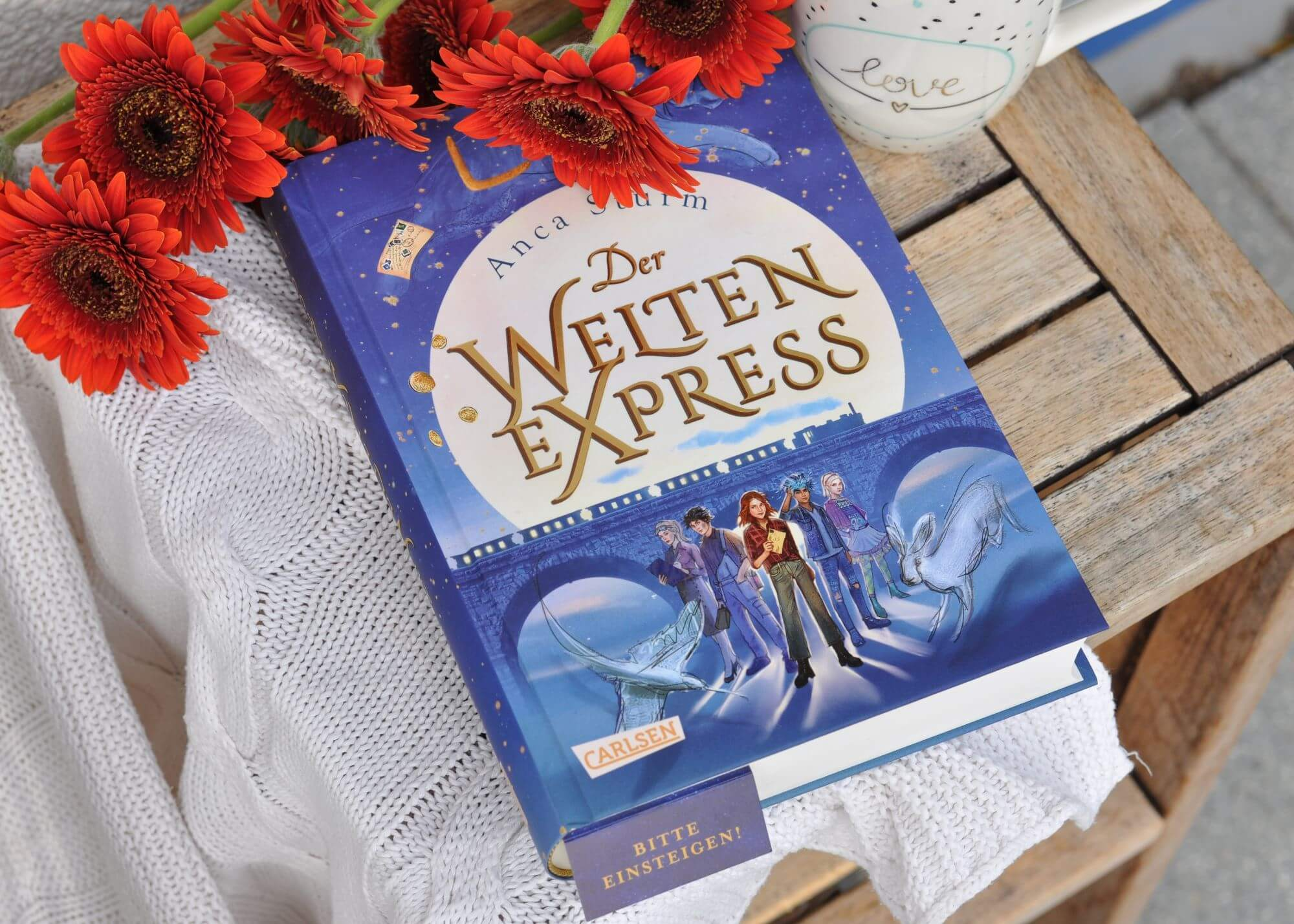 Der Welten-Express - Der erste Band einer fantastisch-zauberhaften Trilogie über Freundschaft, Liebe und Abenteuer mit jeder Menge Spannung und Magie #Internat #schule #lesen #buch #fantasy #zug #reisen #abenteuer