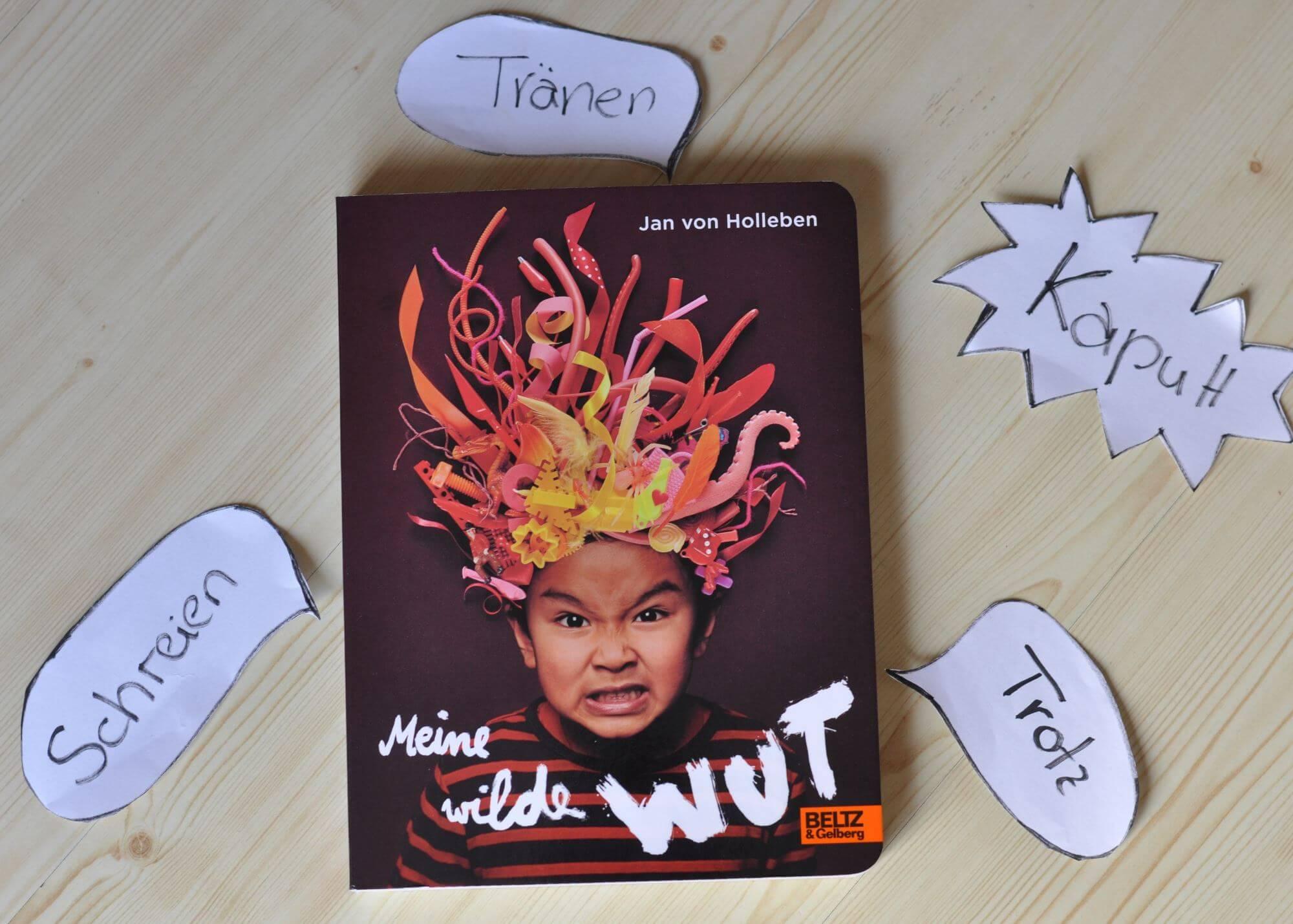 Meine wilde Wut - Ein Fotobuch für Kinder ab 4 Jahren #kinderbuch #fotografie #bilderbuch #wut