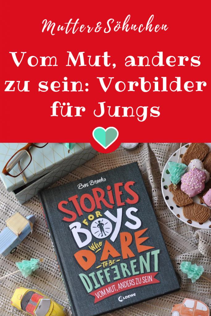 Stories for Boys - Vom Mut, anders zu sein. Portraits von großen und kleinen Helden, die den Mut hatten, ihren Weg zu gehen und echte Vorbilder für Jungs sind #Jungs #Buch #Kinderbuch 'portrait #lesen #vorlesen #geschichte #helden