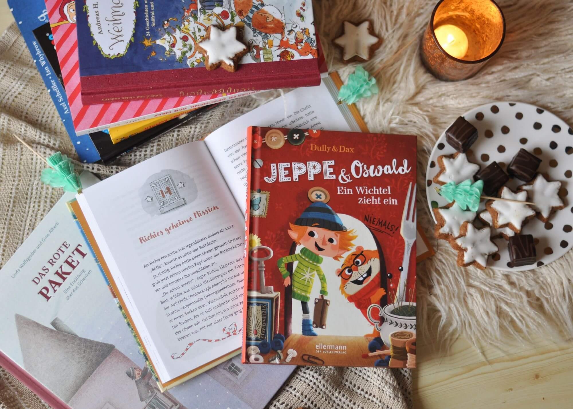 Weihnachten - Klassische und außergewöhnliche Bücher für die Weihnachtszeit für Kinder von 2 bis 8 Jahren #weihnachten #kinderbuch #lesen #vorlesen #advent