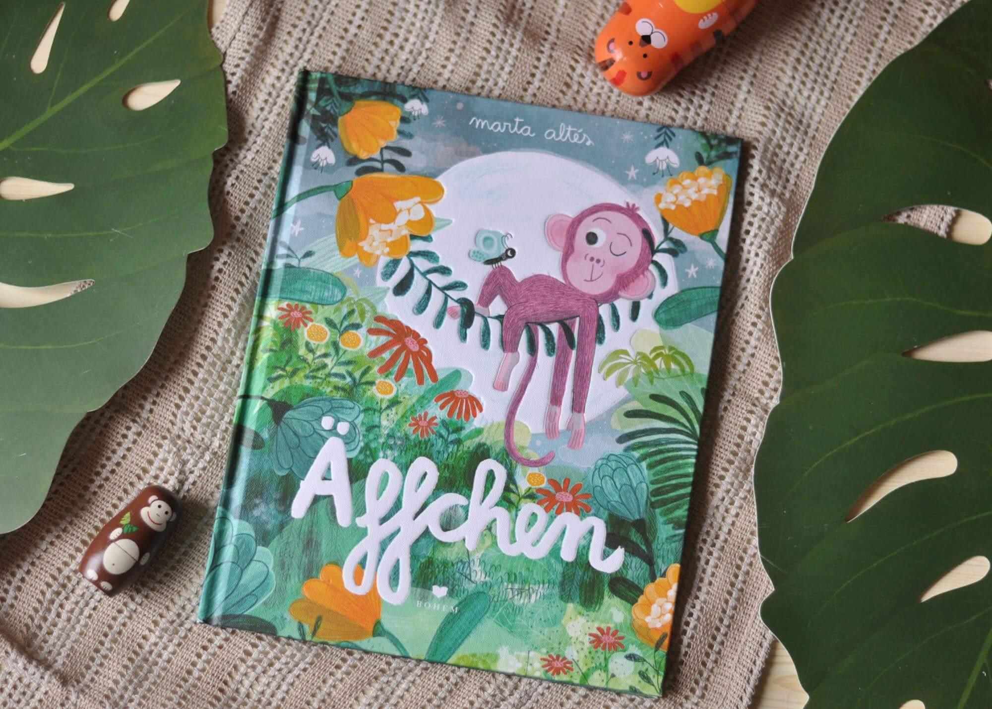 """Auch wer klein ist, kann Großartiges erreichen. Gewitzt und mutig streif das Äffchen allein durch den Dschungel. Von wegen """"zu klein"""". #affe #kinderbuch #vorlesen #buchtipp #dschungel #mutig #klein"""