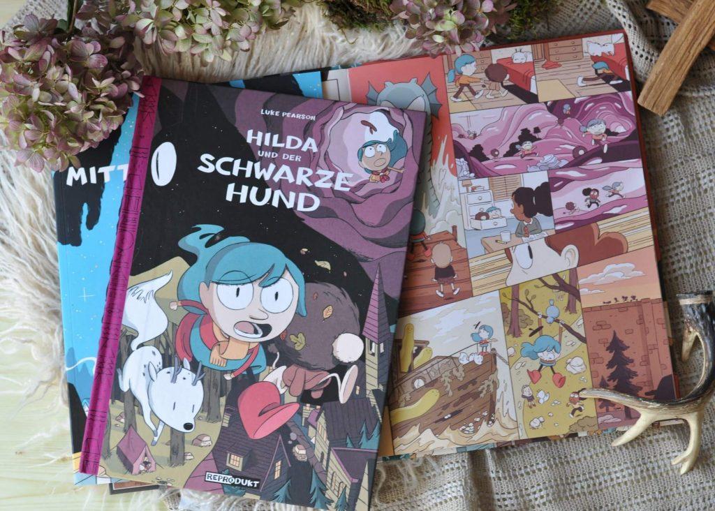 Hilda und der schwarze Hund #fantasy #comic #graphicnovel #kinderbuch #lesen #vorlesen