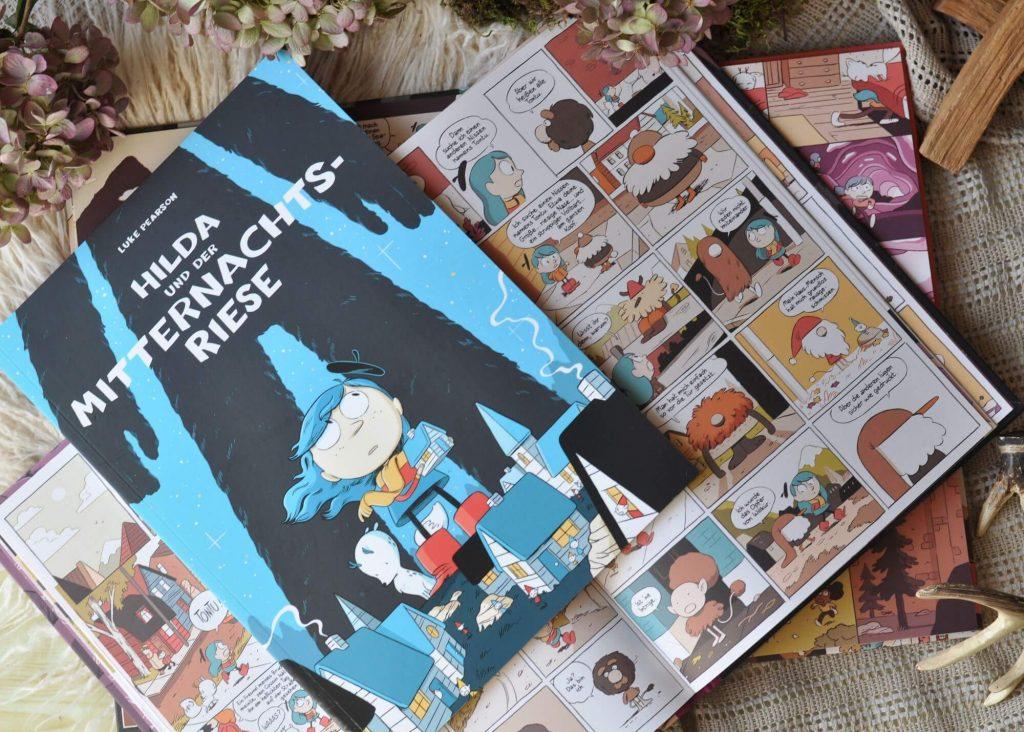 Hilda und der Mitternachtsriese #fantasy #comic #graphicnovel #kinderbuch #lesen #vorlesen