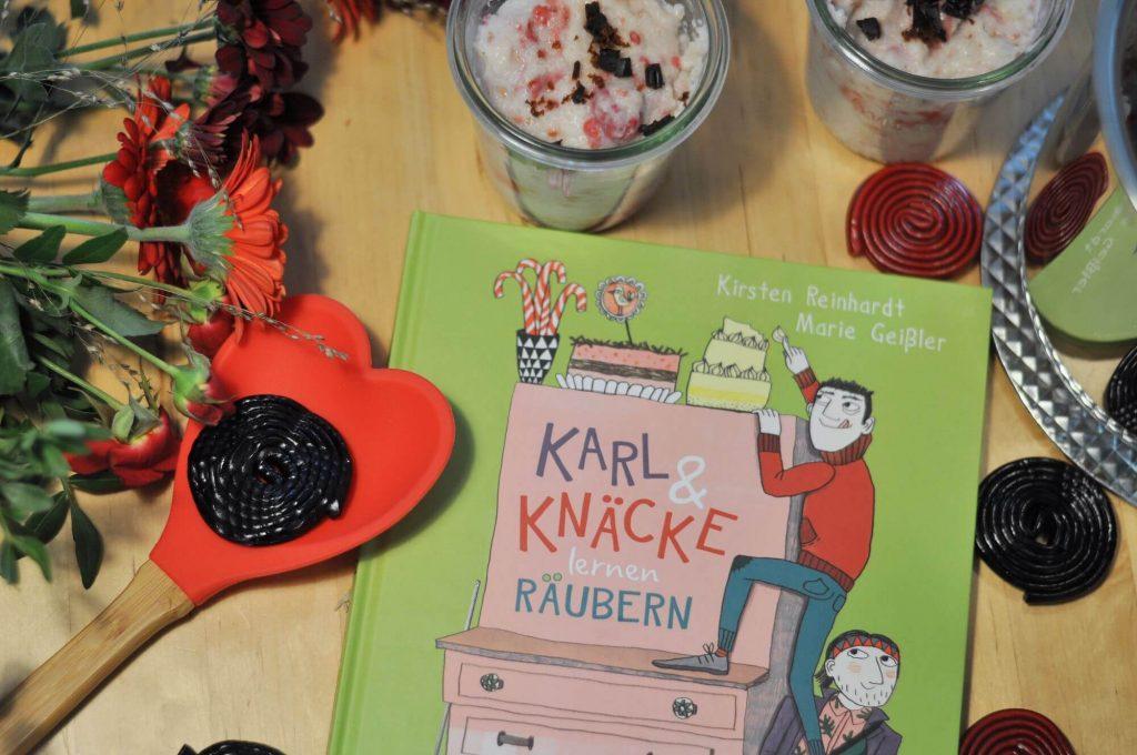 Rezept für süßen Räubergrießbrei von Karl & Knäcke lernen Räubern #kinderbuch #räuber #grießbrei #rezept #buchtipp #bilderbuch