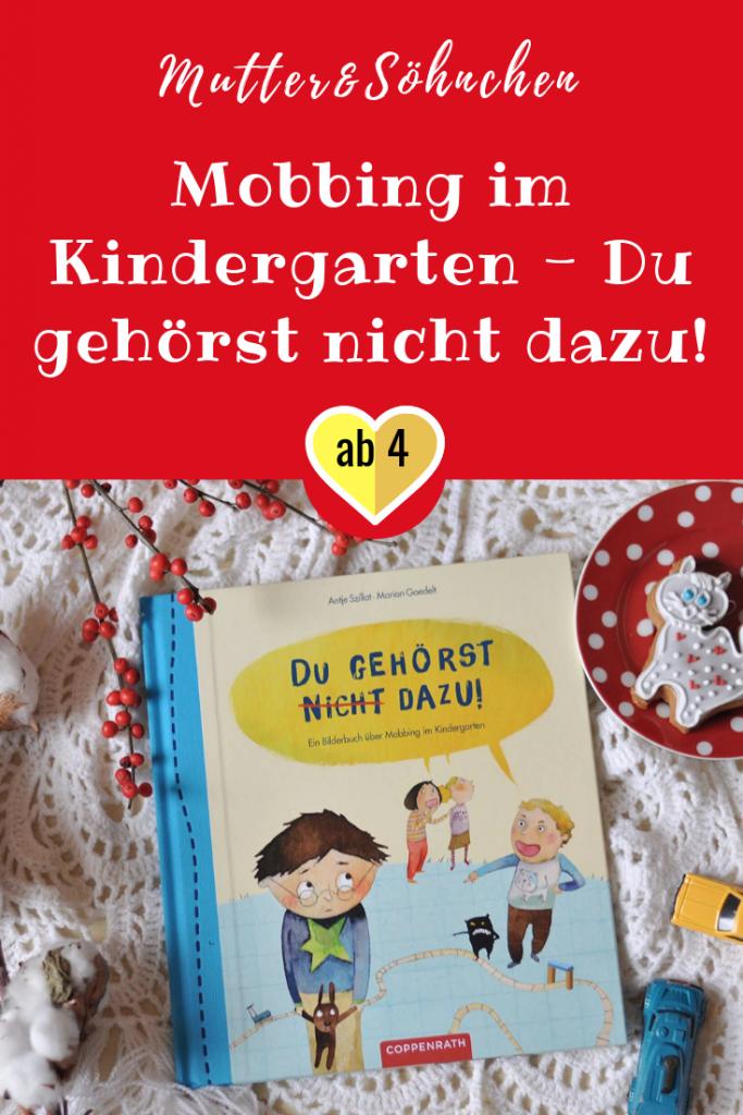 Wird ein Kind systematisch ausgegrenzt, steckt mehr dahinter. Ein Buch, das zeigt, was gegen Mobbing im Kindergarten hilft. #mobbing #kindergarten #kinderbuch #lesen #sorgen #hänseln #vorlesen #bilderbuch
