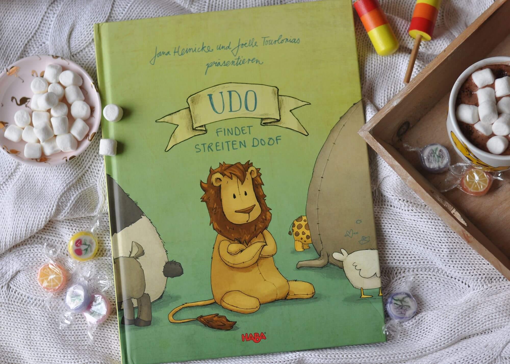 Udo lebt zusammen mit seinen Freunden, doch in letzter Zeit gibt es mehr Streit als Harmonie. Dabei sollte man sich doch so mögen, wie man ist. Ein tolles Kinderbuch über Streiten und Versöhnen #kinderbuch #bilderbuch #streiten #lesen #vorlesen #löwe #geschwister