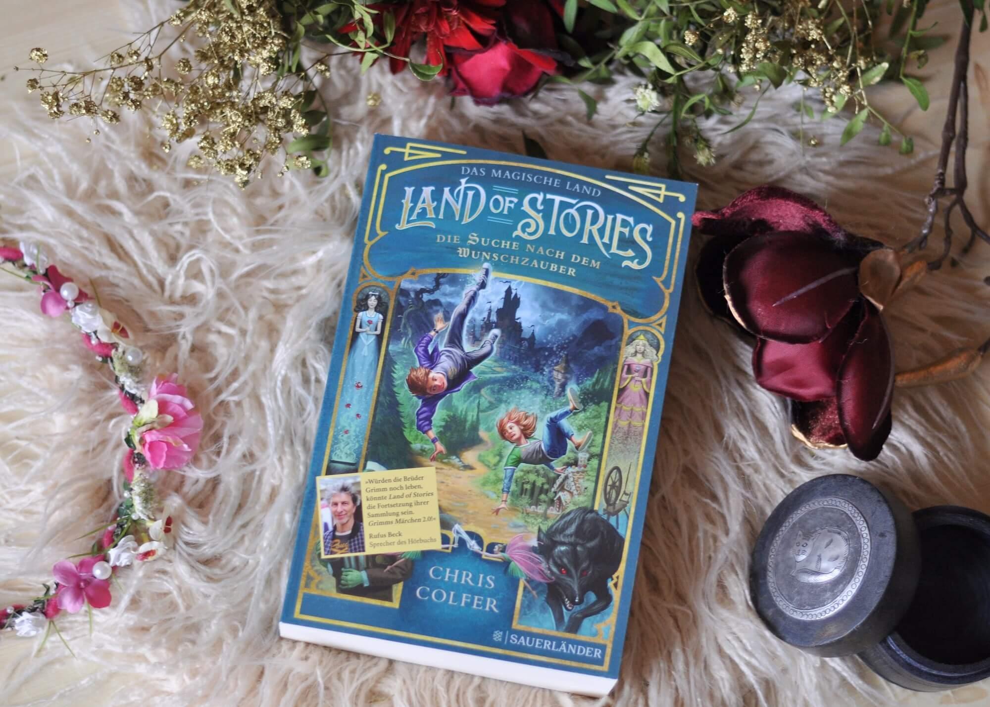 Must-Have für Märchenfans ab 10 Jahren - Land of Stories - Die Suche nach dem Wunschzauber ist der Auftakt einer märchenhaften Odysee zweier Kinder. Und das beste: Es wird verfilmt! #märchen #kinderbuch #lesen #verfilmung