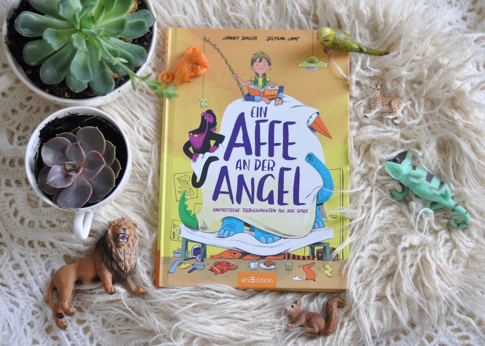 Fantastische Tiergeschichten aus der Stadt: Auch in der Stadt kann man ein fantasievoller Tierforscher sein #kinderbuch #vorlesen #tier #geschichten #affe #stadt #fantasie #forscher