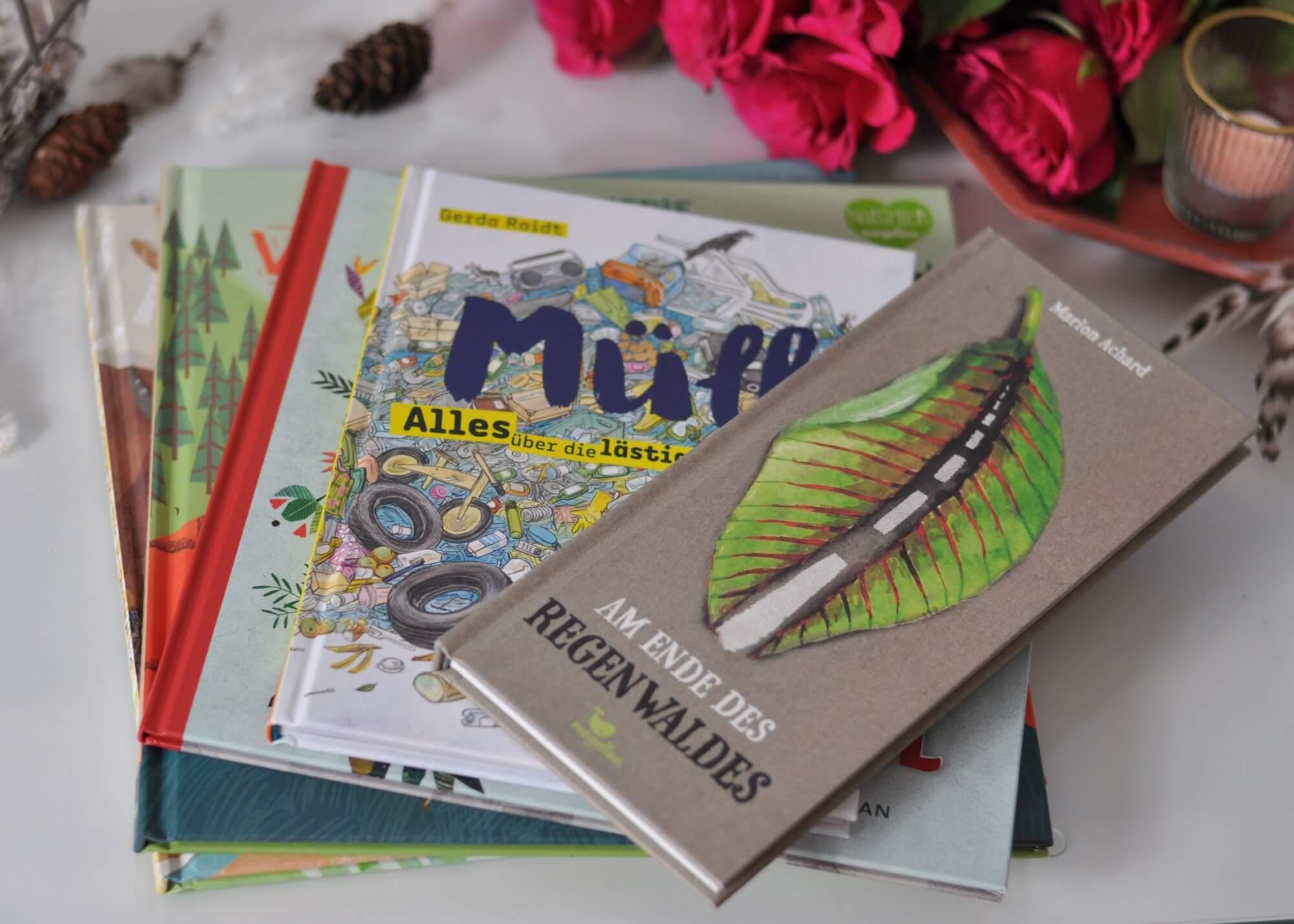 Ob Müll, Urban-Gardening oder das Abholzen der Wälder - in Sachen Nachhaltigkeit und Umweltschutz muss einiges getan werden. Diese 5 Bücher bringen Kindern ab 3 Jahren wichtige Themen rund um Umweltschutz nahe. #Nachhaltigkeit #Umweltschutz #Garten #Müll #Kinderbuch #lesen #vorlesen