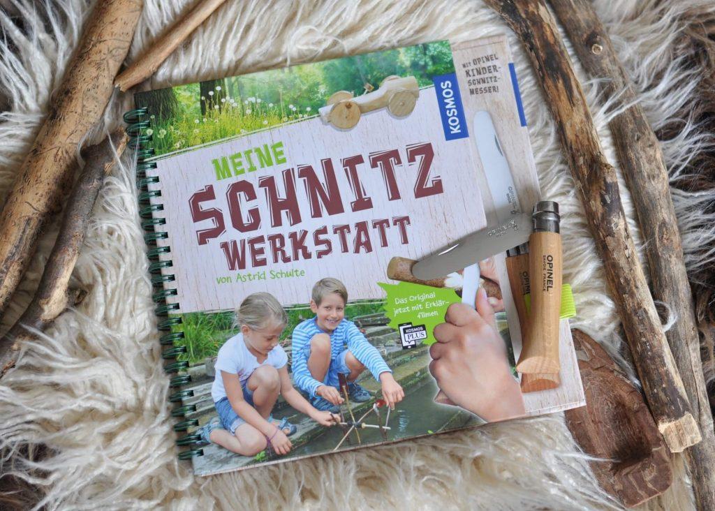 Die besten Outdoor-Bücher! Mit kindgerechter Schnitzanleitung und einem Kinderschnitzmesser lernen Kids ab 8 Jahren, Holz zu bearbeiten. #kinderbuch #schnitzen #outdoor #natiur #survival