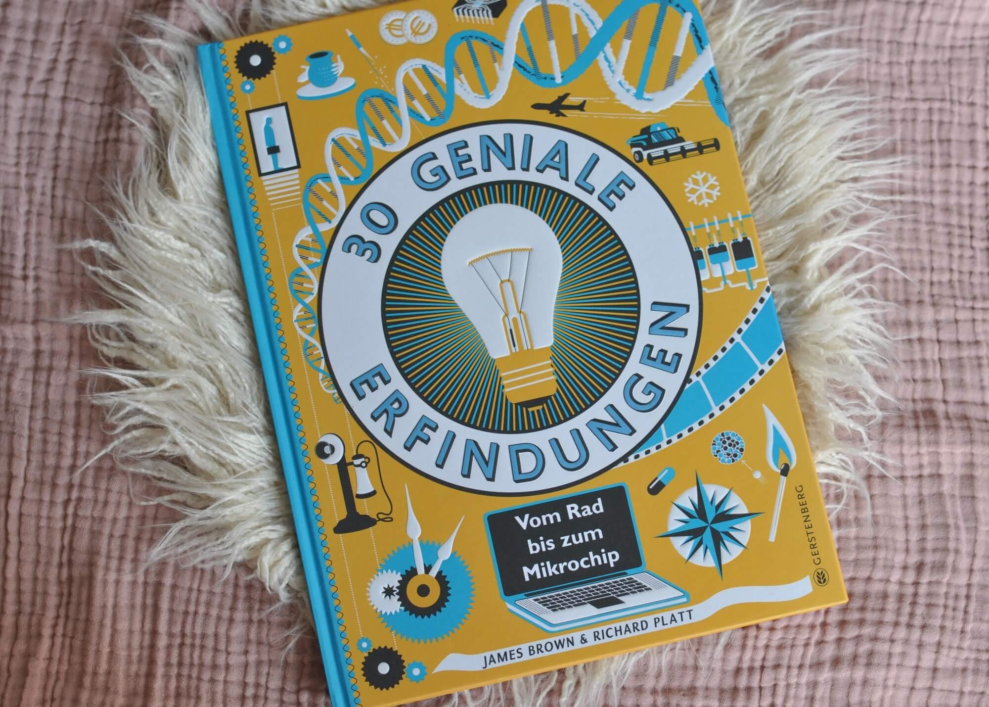 Wenn es diese 30 genialen Erfindungen nicht gäbe, wäre vieles nicht möglich. Zum Beispiel ein Buch nachts heimlich im Licht der Nachttischlampe zu lesen, denn dann gäbe es weder Elektrizität noch Papier noch den Buchdruck. Ein Kinderbuch für Leser ab 8 Jahren mit erklärenden retro Illustrationen. #sachbuch #lesen #erfindungen #kinder #jungs #gesellschaft #fortschritt #innovationen #illustrationen #retro #erfinder