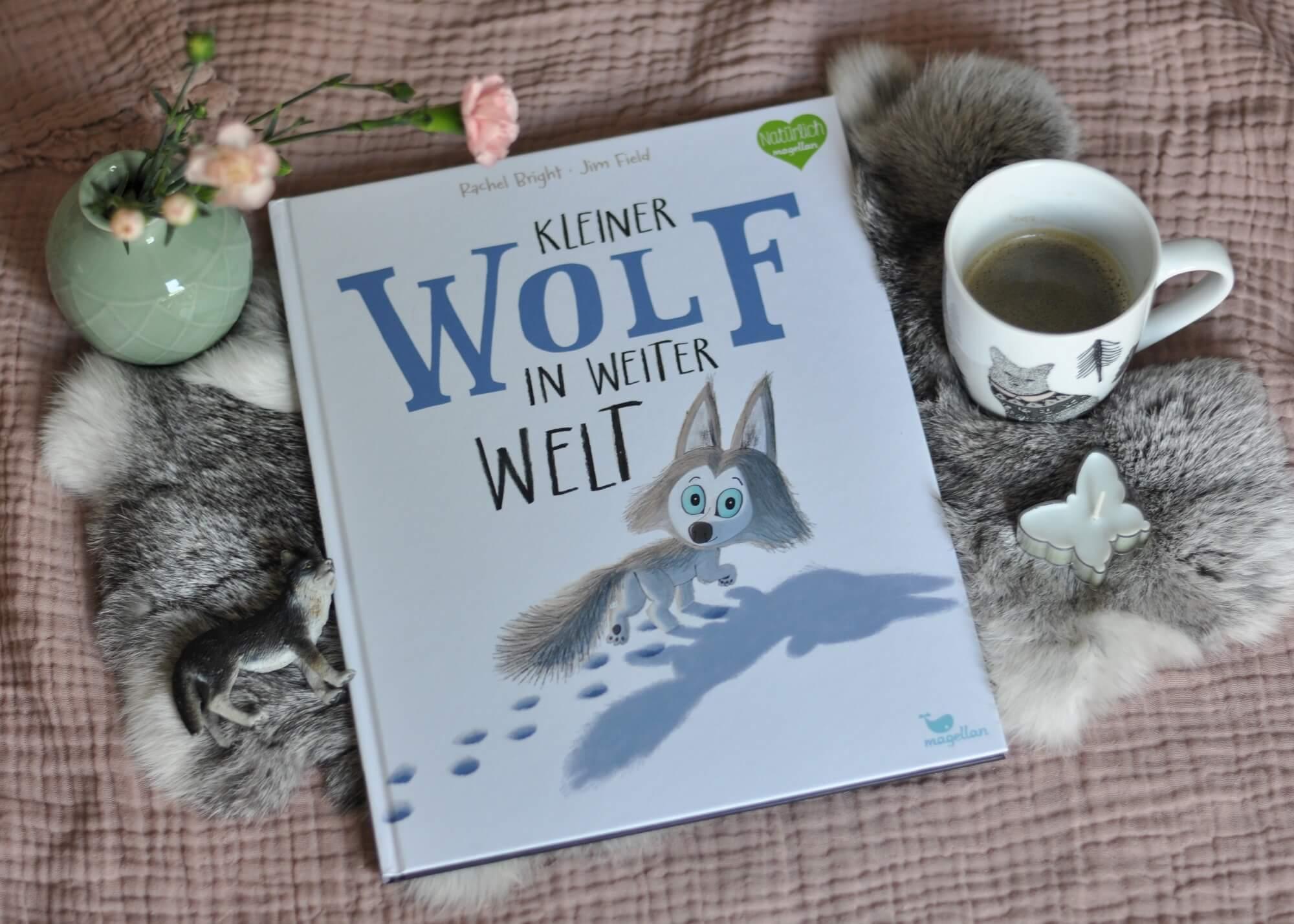 Manchmal braucht man Mut, um seinen Stolz zu überwinden und Hilfe anzunehmen. Wolfsjunge Wido will keine Hilfe - schon gar nicht von seinen Rudelmitgliedern. Doch bei einer Wanderung verliert er den Anschluss und ist auf einmal auf fremde Hilfe angewiesen. Ein Buch über Hilfsbereitschaft von Rachel Bright und Jim Field. #wolf #buch #lesen #vorlesen #kinderbuch #bilderbuch #hilfe #hilfsbereitschaft #mut #stolz
