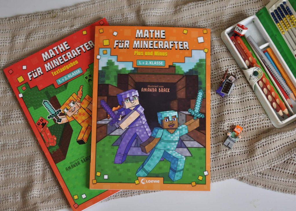 Yay - endlich keine Aufgaben mehr ausdenken! Vor allem die Textaufgaben finde ich super, denn sie sind sehr nahe am Interesse von Minecraft-Fans und belegen, dass man im Alltag eben auch rechnen muss, um Dinge einzuschätzen oder zu planen. #minecraft #mathe #rechnen #grundschule #nachhilfe #lernen #aufgaben #heft