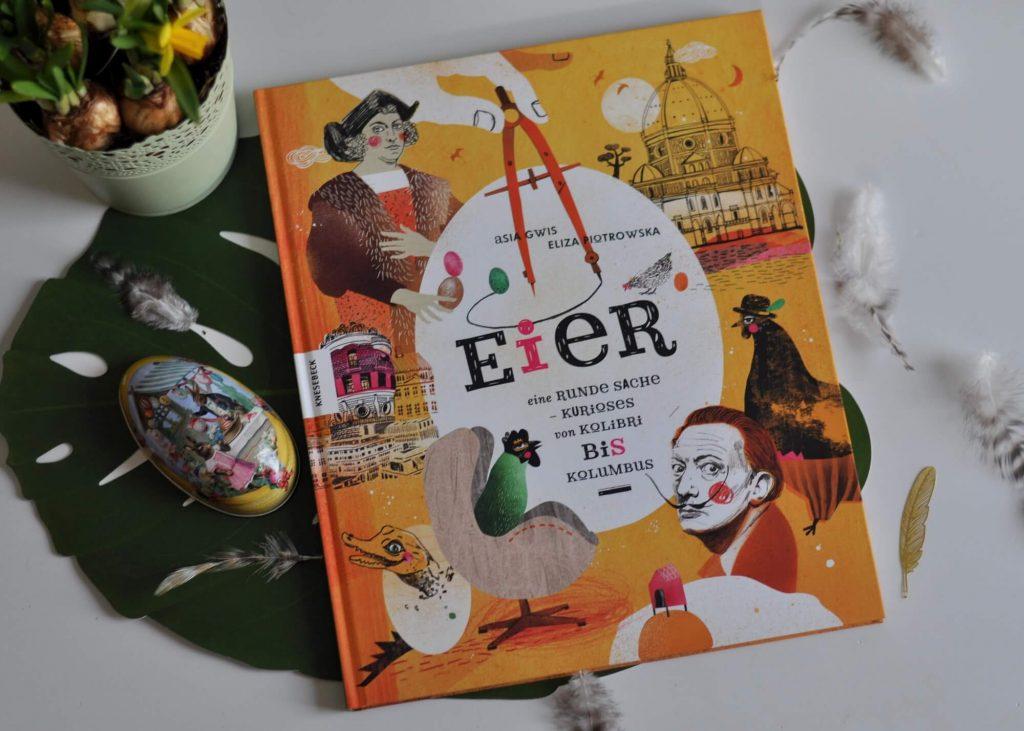 Von Geschichte, über Lebewesen bis hin zu Kunst, Literatur und kulturellen Bräuchen - hier erfahren Grundschulkinder alles über Eier. Dazu sind die Illustrationen bunt und witzig gehalten. #sachbuch #eier #lesen #buch #kinder #grundschule