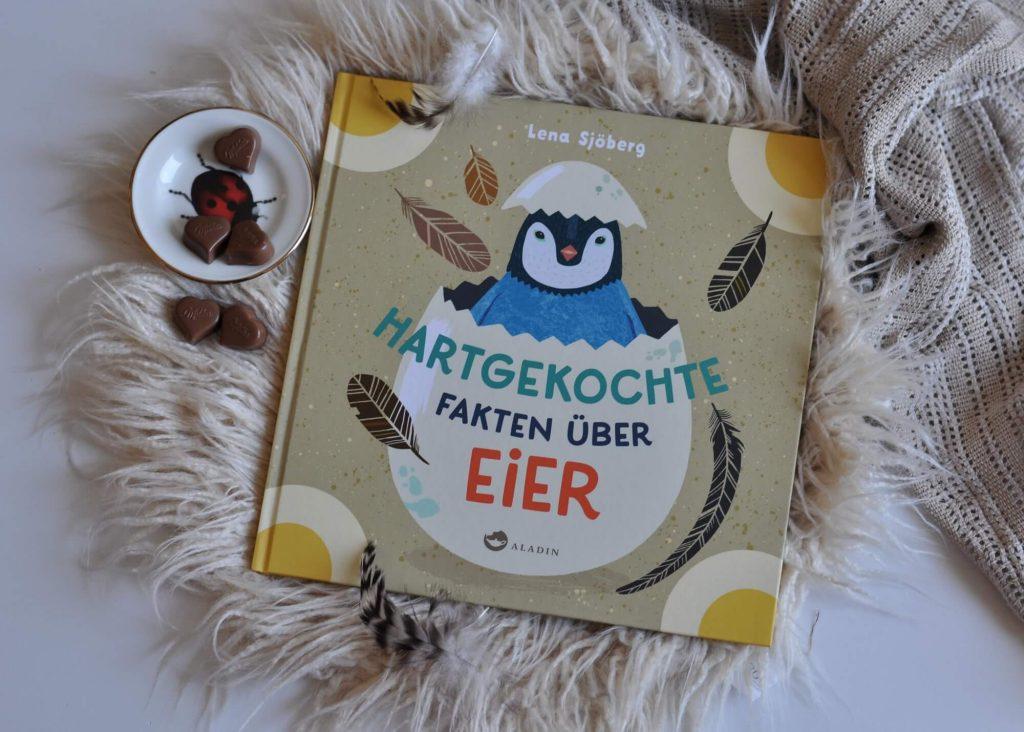 Wusstet ihr, dass Forscher Eier im Weltraum entdeckt haben? Oder dass es Tiere gibt, die eckige Eier legen? Dieses Sachbilderbuch erklärt alles über Eier. #ei #bilderbuch #vorlesen #ostern #sachbuch #wissen