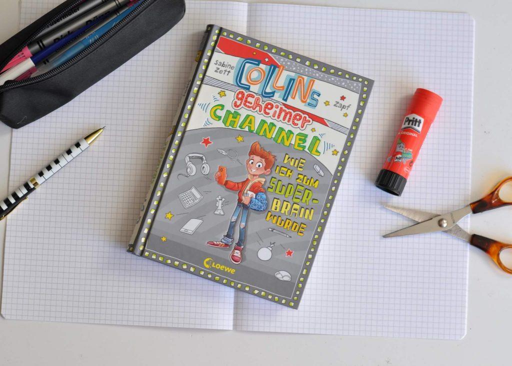 Collin will endlich auf YouTube den ganz großen Durchbruch schaffen – schließlich hat seinen Chill-Mal-Channel schon über 2.000 Follower. Doch wie soll das gehen, wenn niemand erfahren darf, wer sich hinter der Puma-Maske verbirgt? #youtube #kinderbuch #tagebuch #comic #lesen #krankenhaus #praktikum #schule