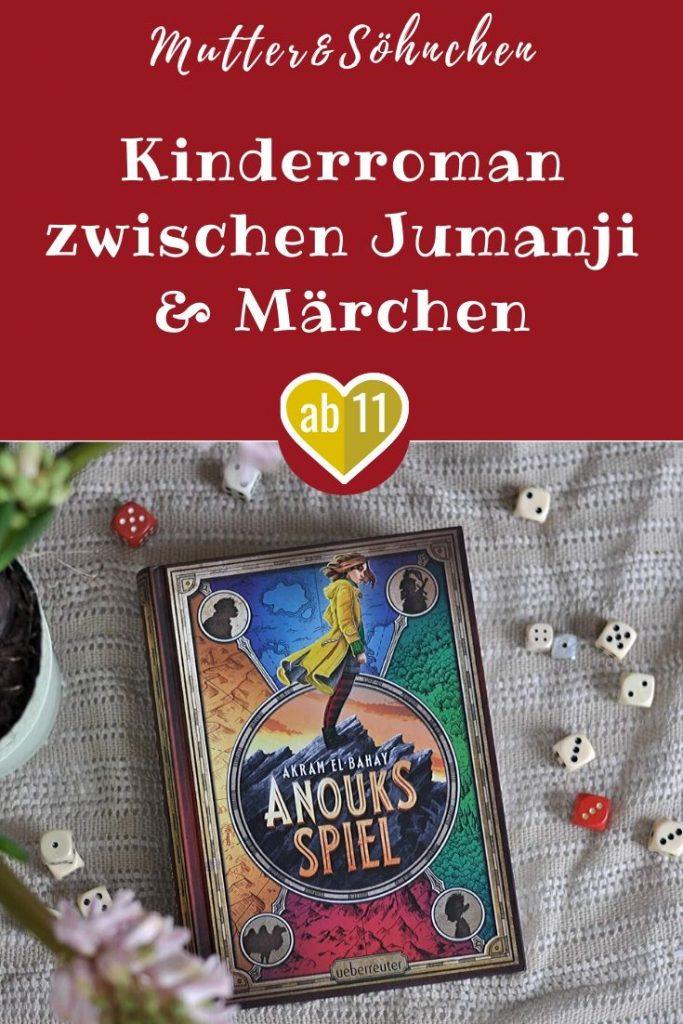 An ihrem 13. Geburtstag geht ihr ihre kleine Schwester Maya so richtig auf den Keks. Deshalb wünscht sich Anouk von Herzen, dass sie ihre Eltern wieder für sich alleine hat. Doch am nächsten Morgen ist Maya wie vom Erdboden verschluckt, als hätte es sie nie gegeben. Es gibt nur einen Weg, den Wunsch rückgängig zu machen: Anouk muss ein magisches Spiel spielen. #spiel #jumanji #fantasy #kinder #buch #lesen #märchen