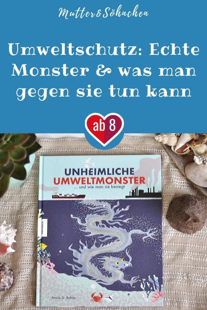 lastik-Suppen-Krake, müffelnder Müll Kong oder Smogosaurus - dieses Sachbuch zeigt die wahren Monster, die sich auf der Erde herumtreiben. Diese Monster leben von Plastik und Abgasen, erzeugen Stürme oder vertreiben Tiere. Und jeder von uns kann etwas gegen sie tun. #umwelt #monster #bilderbuch #sachbuch #umweltschutz #klima #fantasy #kinder