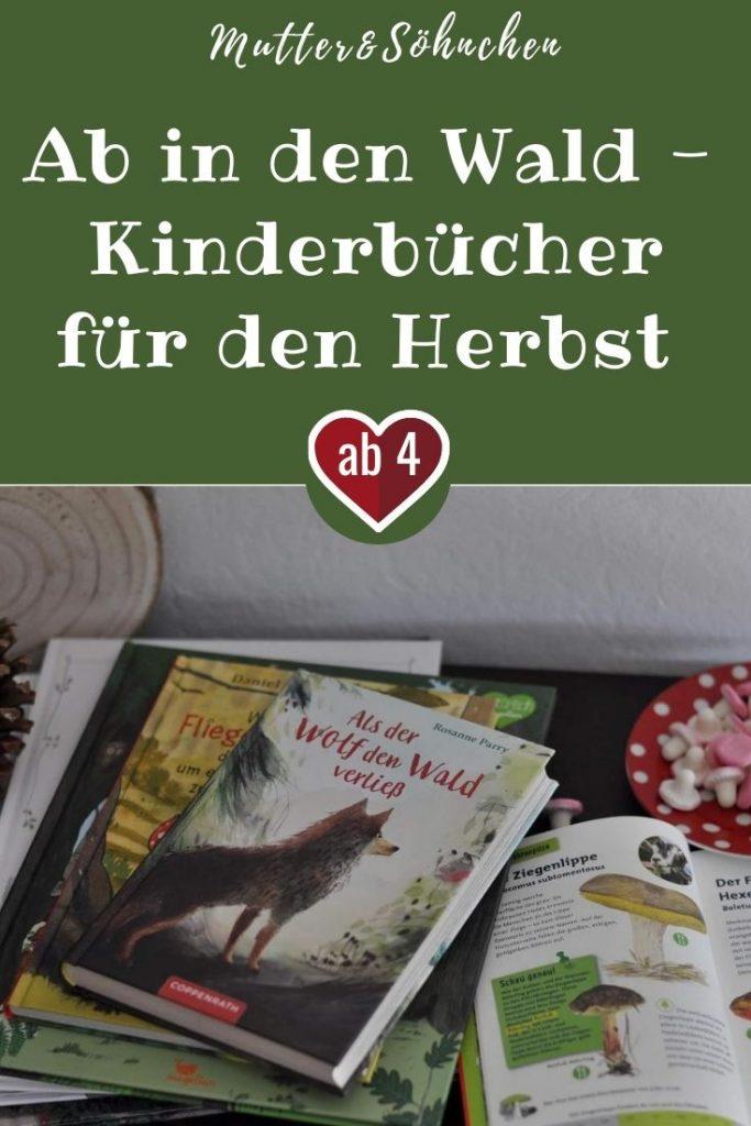Wie wäre es mit einer wahren Wolfsgeschichte, die ans Herz geht? Oder der ungewöhnlichen Baumrettung durch einen Fliegenpilz? Wie wäre es mit einer Geschichte über einen ängstlichen Wolf oder einem Marder, der von seinem Zuhause berichtet? Oder sucht ihr einfach nach einem richtig guten Pilzführer? #wolf #wald #herbst #pilze #buch #bilderbuch #kinder #lesen #vorlesen