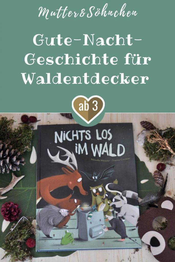 """Vater, Mutter und ihre zwei Kinder wollen mitten im Wald zelten. Am Abend rösten sie Marshmallows am Lagerfeuer und machen es sich in ihren Zelten gemütlich. Doch bevor es ans Schlafen geht, möchte der Sohn von seinem Papa wissen, was machen die Tiere im Wald in der Nacht machen. """"Die machen nichts Besonderes"""", antwortet der Vater. Aber da täuscht er sich gewaltig. #wald #tiere #bilderbuch #vorlesen #camping #zelten #nacht"""