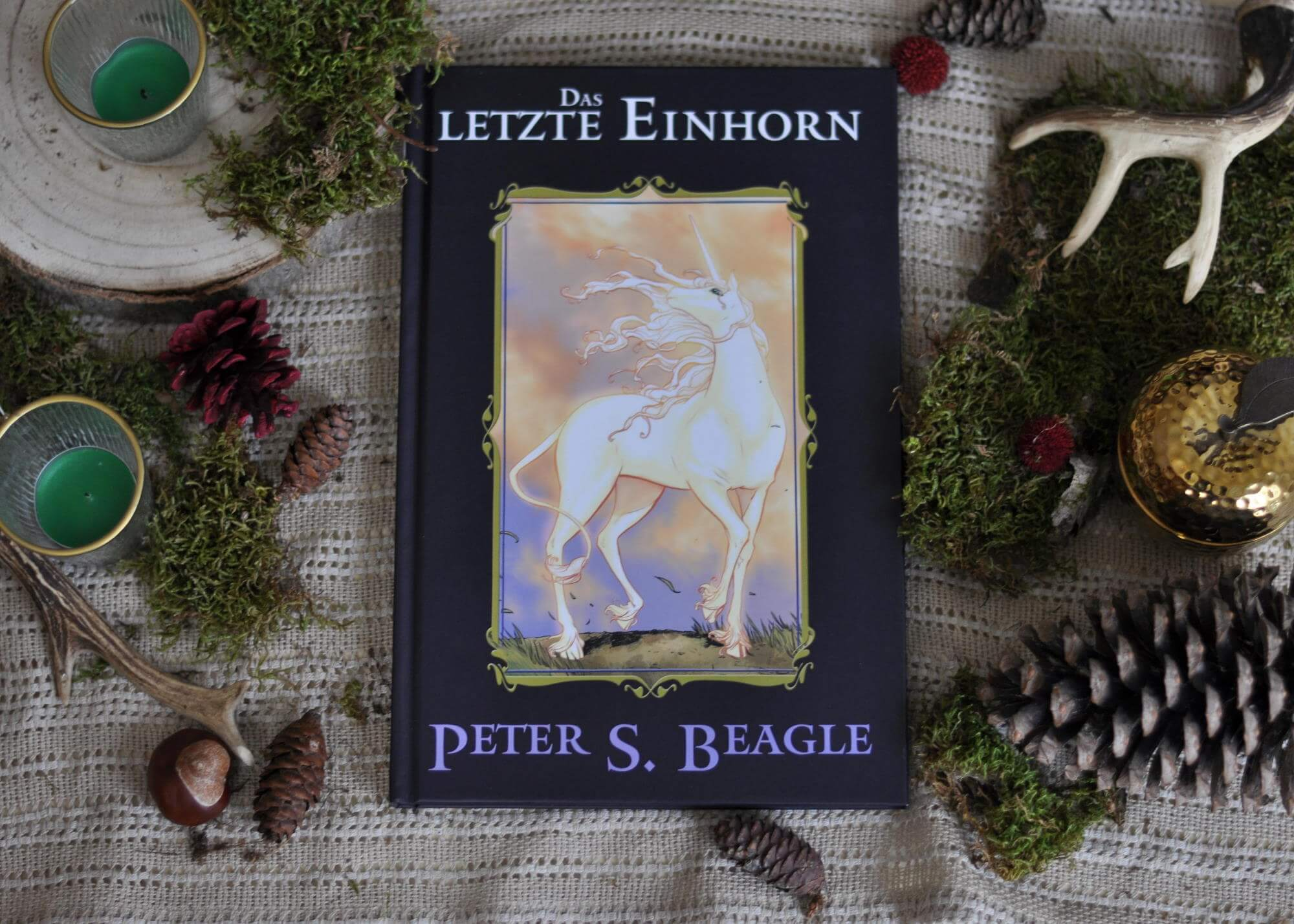 Das Einhorn lebt allein und zufrieden in seinem verzauberten Wald und hütet seine Waldfreunde. Doch eines Tages erfährt es von einem Schmetterling, dass es das letzte seiner Art sein könnte und alle anderen EInhörner vom Roten Stier gefangen wurden. Also macht sich das magische Geschöpf auf die Suche nach seinen Artgenossen und bereist eine Welt, in der Gier und Finsternis vorherrschen, sich aber auch Mut und Freundschaft finden. #einhorn #magie #comic #weihnachten #lesen #kinder #beagle #letzte #buch #fantasy