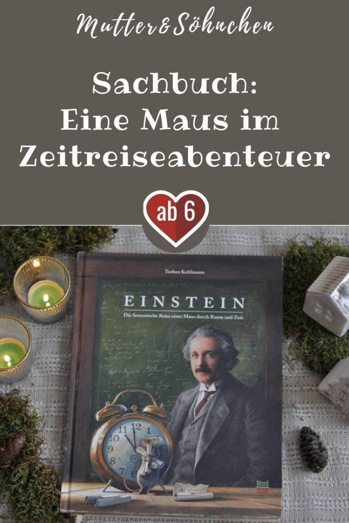 Oh nein! Die kleine Maus hat das große Käsefest in Bern verpasst. Genau einen Tag ist sie zu spät gekommen. Dabei hat sie sich doch schon so lange auf das fest gefreut. Deshalb beginnt die Maus, sich mit dem Thema Zeit zu beschäftigen. Doch egal wie viel sie herausfindet, eine Frage bleibt: Lässt sich die Zeit anhalten oder sogar zurückdrehen? #maus #einstein #zeit #buch #kinder #vorlesen #sachbuch #lesen #kuhlmann
