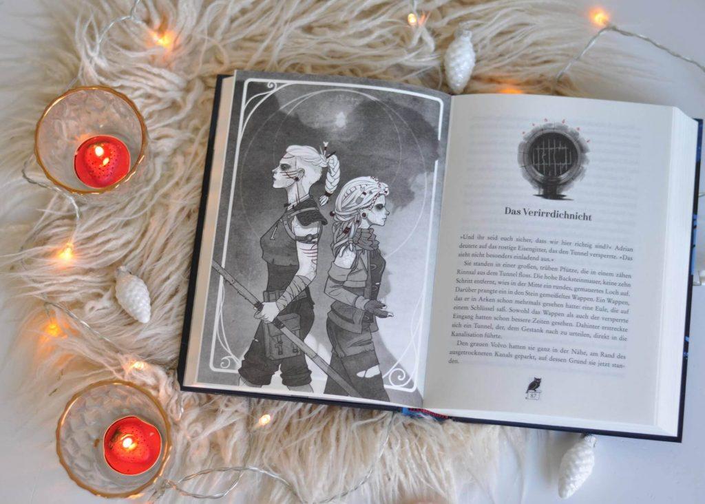 Adrians Großtante verschwindet spurlos. Die Azubi-Hexe Jazz ist sich sicher, dass es sich dabei um ein magisches Verbrechen handelt, während Dorftroll und Nerd Juri es als Teil ihrer Helden-Quest sieht, Adrians Tante wiederzufinden. Während Adrian seine eigenen magischen Kräfte entdeckt, müssen die drei mehr als Detektivarbeit leisten, denn auf einmal hängt das Schicksal Arkens und seiner Bewohner von ihnen ab. #fantasy #kinderbuch #schamane #magie #hexe #golem #jugendbuch #spannung #nerd #rollenspiel #penandpaper