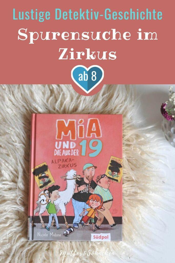 Herr Rippel, einer der Bewohner aus der betreuten Senioren-WG in Mias Straße, taucht plötzlich mit einem Alpaka im Schlepptau auf. Hat er das Tier etwa entführt? Vielleicht aus dem Zirkus, der gerade in der Stadt gastiert? Eins ist klar: Behalten kann er das Tier nicht, auch wenn es sich direkt in Holger verliebt hat. Mia und ihre Freundin Jil nehmen schnell die Ermittlungen auf, und zwar direkt im Zirkuszelt. #zirkus #alpaka #senior #kinderbuch #detektiv #spannung #lesen #grundschule #inklusion #generationen