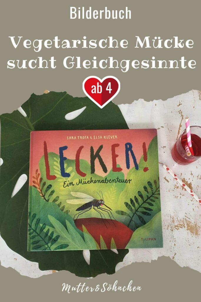 Was muss die kleine Mücke sich nicht alles von ihren Schwestern und Cousinen anhören. Und das nur weil sie kein Blut mag. Für sie ist Rote-Bete-Saft die absolute Lieblingsspeise! Da ihre Familie nicht verständnisvoll reagiert, macht sie sich auf die Suche nach neuen Freunden. Doch die Suche gestaltet sich zuerst schwieriger als gedacht, bis sie auf jemanden trifft, der ihren Geschmack teilt ... #mücke #insekten #bilderbuch #kinderbuch #vegetarisch #vegan #essen