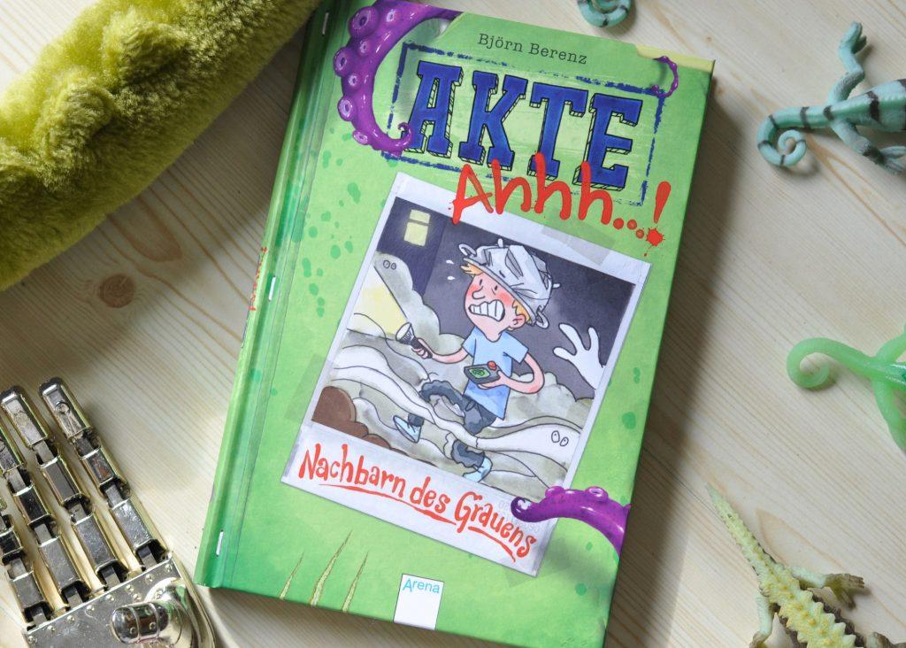 Akte Ahhh ...! #Kinderbuch #Alien #Comic #Lesen #Vorlesen #Sommer #Nachbarn